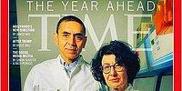 Uğur Şahin ve Özlem Türeci TIME Dergisinin Kapağında