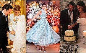 Ünlü İsimlerin Nişan Törenlerinde Tercih Ettikleri İlham Verici Kıyafetler