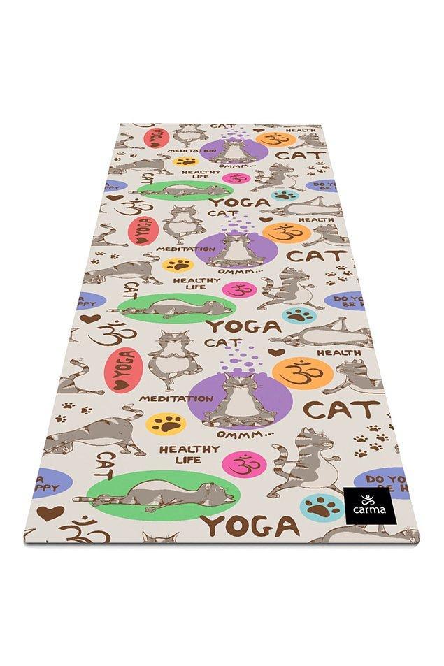 18. Yoga ve pilatese meraklı bir sevgiliniz varsa bu matı çok sevecek.