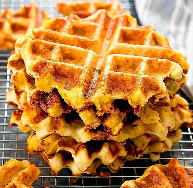 1. Patates Waffle