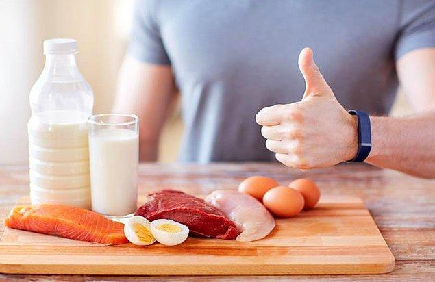 Protein tüketin, öğün atlamayın