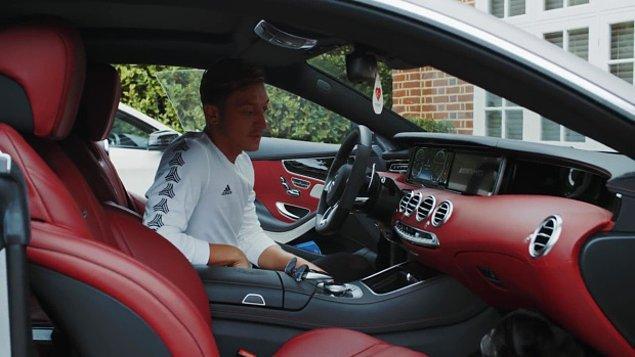 Favori arabası G63 AMG, yaklaşık 143,305 sterlin değerinde.