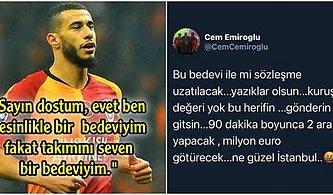 Younes Belhanda Kendisine Irkçı İfadeler Kullanan Galatasaray Disiplin Kurulu Üyesini İfşa Etti