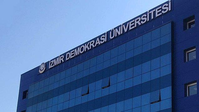 İzmir Demokrasi Üniversitesi Öğretim Üyesi Alım Son Başvuru Tarihi