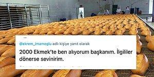 İmamoğlu'nun Halk Ekmek Bağışçısına Teşekkürü, Kocaman Bir Yardım Kampanyasına Dönüştü!