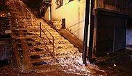 Meteoroloji Uyarmıştı: Fotoğraflarla İzmir'i Felç Eden Sağanak Yağış