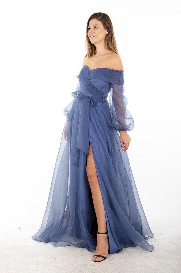 11. Peri masalından fırlamış gibi bir balo elbisesi...