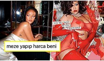 Rihanna Sevgililer Günü İçin Savage X Fenty ile Çıkardığı İç Çamaşırı Koleksiyonuyla Yürekleri Hoplattı 🔥