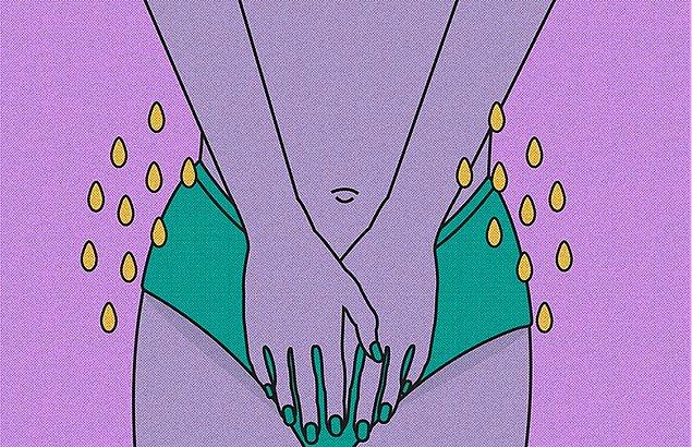 Peegasm tamamen kadın anatomisi ile ilgili bir durum. Neden olan şey ise klitorise uygulanan baskı.