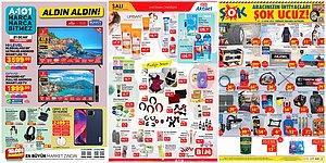 İndirim Günleri Başlıyor: A101, BİM ve ŞOK Aktüel Ürünler Listesinde Bu Hafta Neler Var?