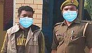 Hindistan Polisi, Zanlıya ve Onu Tutuklayan Memura Photoshop'la Maske Giydirince Alay Konusu Oldu