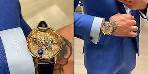 Karma Dövüş Sanatçısı Conor McGregor, 1 Milyon Dolarlık Astronomia Baguette Saatini Paylaştı