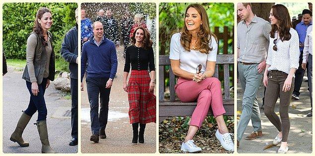 2. Eee Kate'in de günlük bir giyim tarzı olsun ama değil mi?