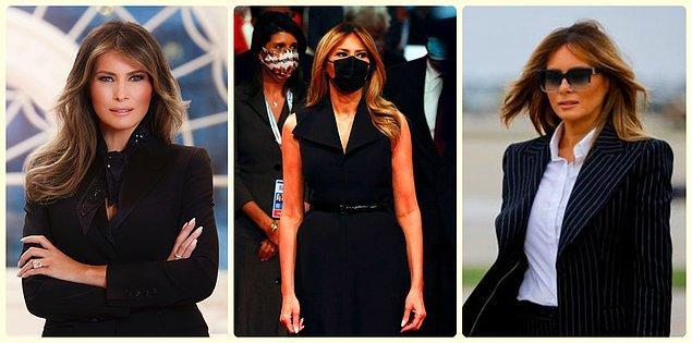 5. Siyah ve takım elbisesiz bir first lady düşünülemez.