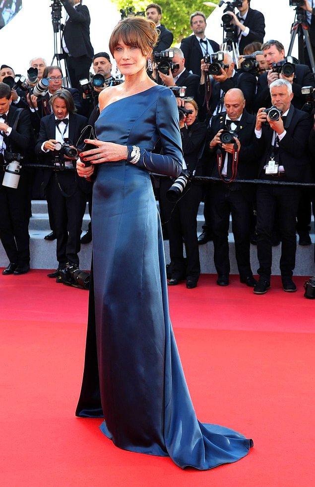 17. Fransa eski first ladysi Carla Bruni.