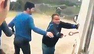 Sakarya'da Engelli Genci Kamyonetin Kasasına Kelepçeleyip, Sürüklediler...