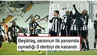 Karlı Derbide 3 Puan Kartal'ın! Galatasaray'ı 2-0 Geçen Beşiktaş Liderliğini Sürdürdü