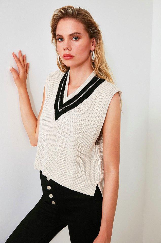 17. Bu triko bluzlar bu yıl çok moda.