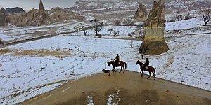 Kartpostallık Manzaralar Oluştu: Tüm Yurttan Objektiflere Yansıyan Kar Görüntüleri