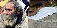 Kar Romantizmi Yeter mi? Sokakta Yaşayan Sami Babacan Kadıköy'de Donarak Hayatını Kaybetti...
