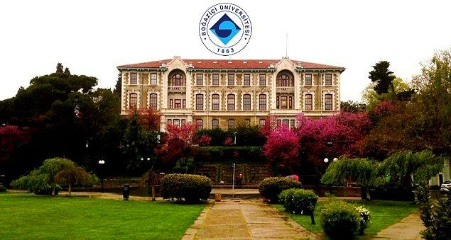 Şimdi aynı listede ilk 500'e giremediği için eleştirilen Boğaziçi Üniversitesi'ndeki duruma bir bakalım.