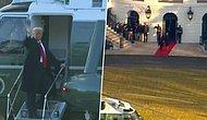ABD'de Bir Dönem Sona Erdi: Trump Beyaz Saray'dan Ayrıldı!
