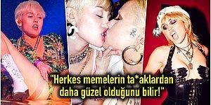 Miley Cyrus'tan Yine Bomba Gibi Bir Açıklama Geldi: 'Kadınlarla Flörtleşmek Daha Mantıklı!'