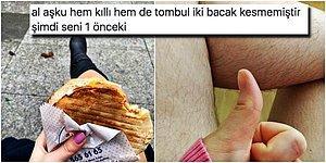 Dürüm Yiyen Kadının Bacağındaki Kılları Gören Kişinin Akılalmaz Yorumu Ortalığı Fena Karıştırdı