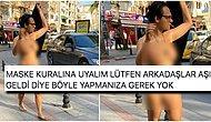 Kadıköy Sokaklarında Anadan Doğma Çıplak Bir Şekilde Dolaşan Esrarengiz Kişi Kafaları Yaktı