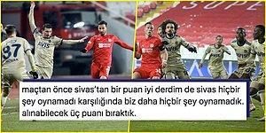 Sivas'ta -13 Derecede Oynanan Maçta Fenerbahçe'nin 5 Maçlık Galibiyet Serisi Sona Erdi: 1-1