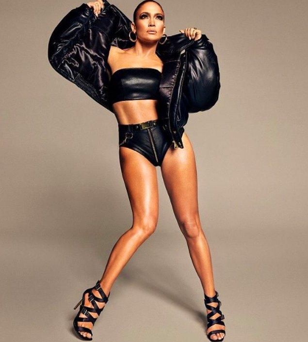 18. Jennifer Lopez sen bir tanrıça olabilir misin?