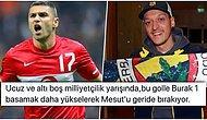 Burak Yılmaz'ın Mesut Özil'e Yaptığı 'A Milli Takım' Göndermesi ve İlginç Çıkışı Tepkilerin Odağında