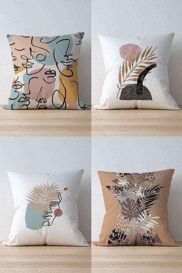 6. Yastıkların moda ikonu karşınızda.
