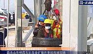 Çin'de Mahsur Kalan 22 Madenciden 11'i Günler Sonra Kurtarıldı
