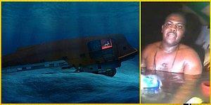 """Okuyanı """"Nasıl Olur?"""" Diye Şaşırtacak Okyanusun 30 Metre Altında 3 Gün Hayatta Kalmayı Başaran Adamın Hikayesi"""