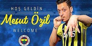 Bir Rüya Gerçek Oldu! Mesut Özil Resmen Fenerbahçe'de