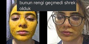 Arkadaşının Önerisiyle Cildini Güzelleştirmek İsterken Zerdeçal Maskesinin Gazabına Uğrayan Kadın