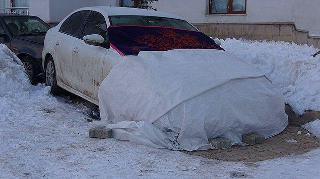 Araçlar buz tutuyor