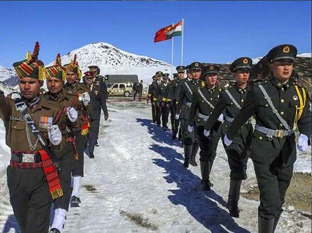 Hint ordusu: Çin devriyesi Hint topraklarına girdi