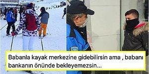 Çifte Standartlar Ülkesi! Yasaklara Rağmen Uludağ'da Kayak Yapmanın Serbest Olması Herkesi İsyan Ettirdi