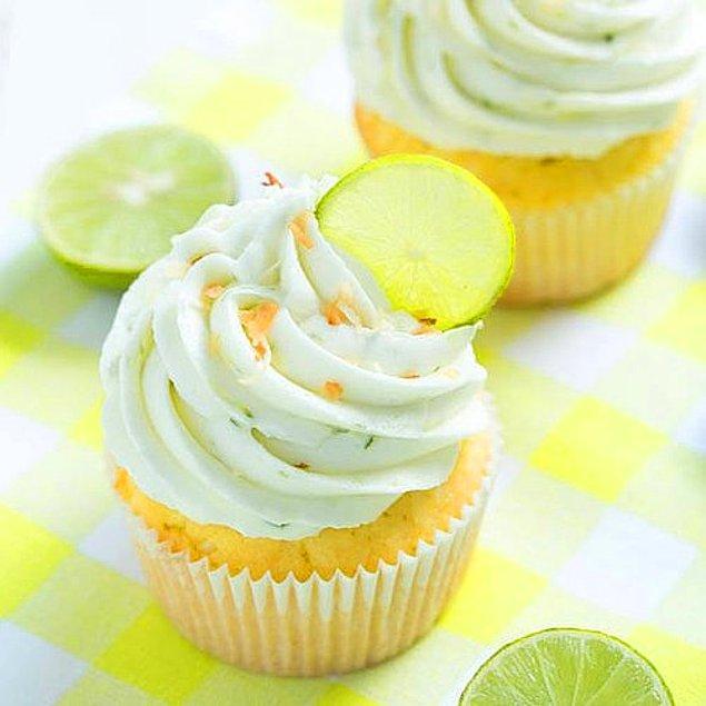 Misket Limonlu Cupcake Tarifi: