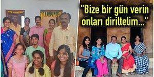 İlahi Bir Mesaj Aldıklarını İddia Ederek Kızlarını Diriltmek İçin Vahşice Katleden Hintli Çift