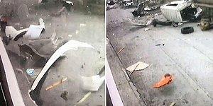 Bursa'daki Lodos Fırtınasının Korkunç Görüntüleri Ortaya Çıktı