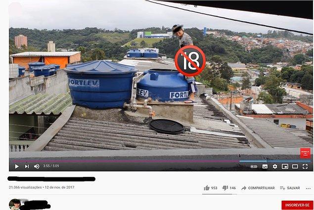 """13. """"Brezilyalı YouTuber izlenme için komşularının su tankına işiyor..."""""""