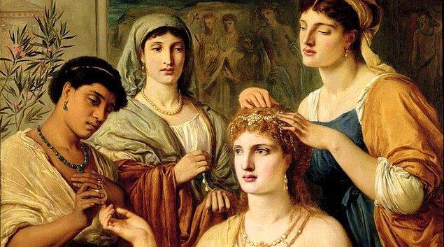 1. Antik Roma'da bazı kadınlar idrarlarının gül gibi kokması için terebentin içerlerdi.