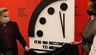 73 Yıl Önce Bilim İnsanları Tarafından Kurulmuştu: Kıyamet Saati 100 Saniyelik Geri Sayımda...