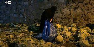 Semt Pazarlarından Arta Kalanları Toplayan Vatandaşlar: 'Yarı Aç Yarı Tokuz'