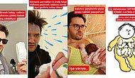 Karikatürist Nisan Hakan'ın Bebek Bakarken Yaşadığı Zorlukları Anlattığı Kahkaha Attıran Paylaşımı