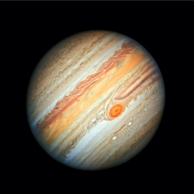 Jüpiter (Ay başında Kova sonra ise Oğlak takımyıldızında)