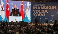 Erdoğan'dan Kongreye Katılanlara Teşekkür: 'Salgına Rağmen Salonları Tıklım Tıklım Doldurdunuz'